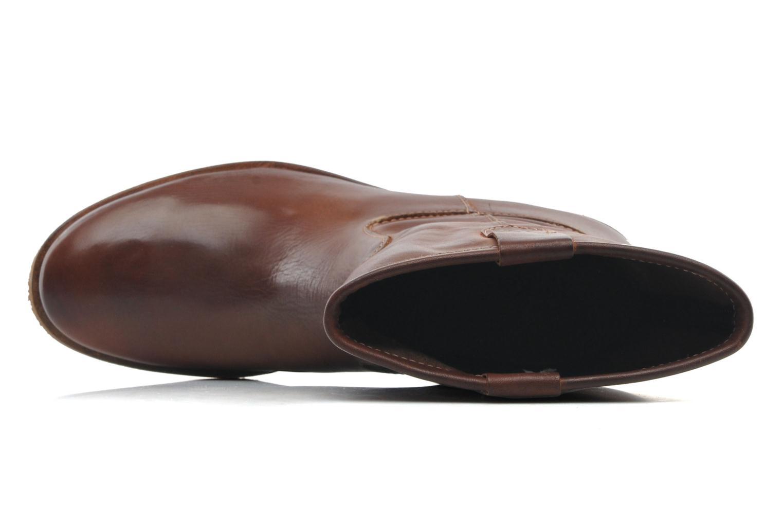 Bottines et boots Kickers Longwest Marron vue gauche