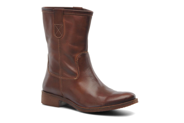 Bottines et boots Kickers Longwest Marron vue détail/paire