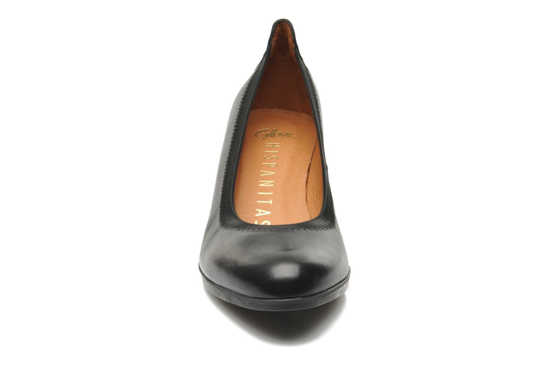 Escarpins Hispanitas Seattle Noir vue portées chaussures