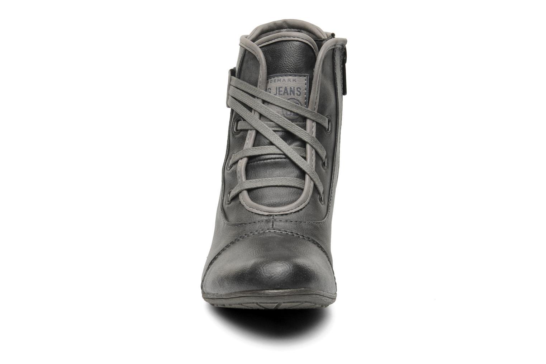 Stiefeletten & Boots Mustang shoes Ibline grau schuhe getragen