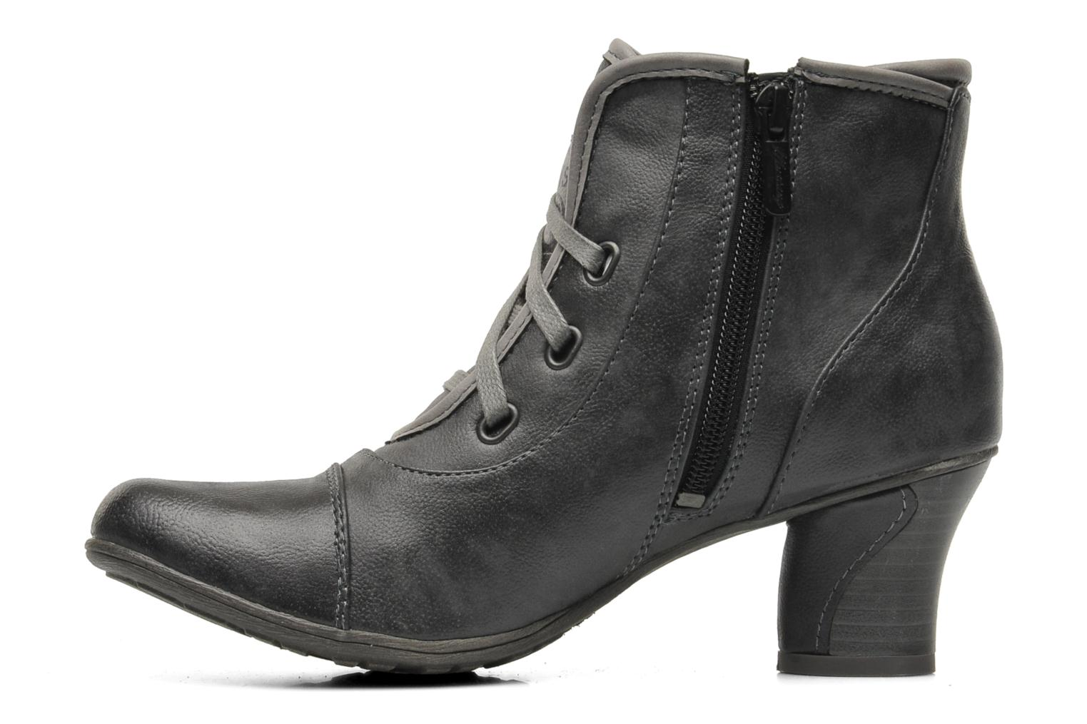 Ankle boots Mustang shoes Ibline Grey front view