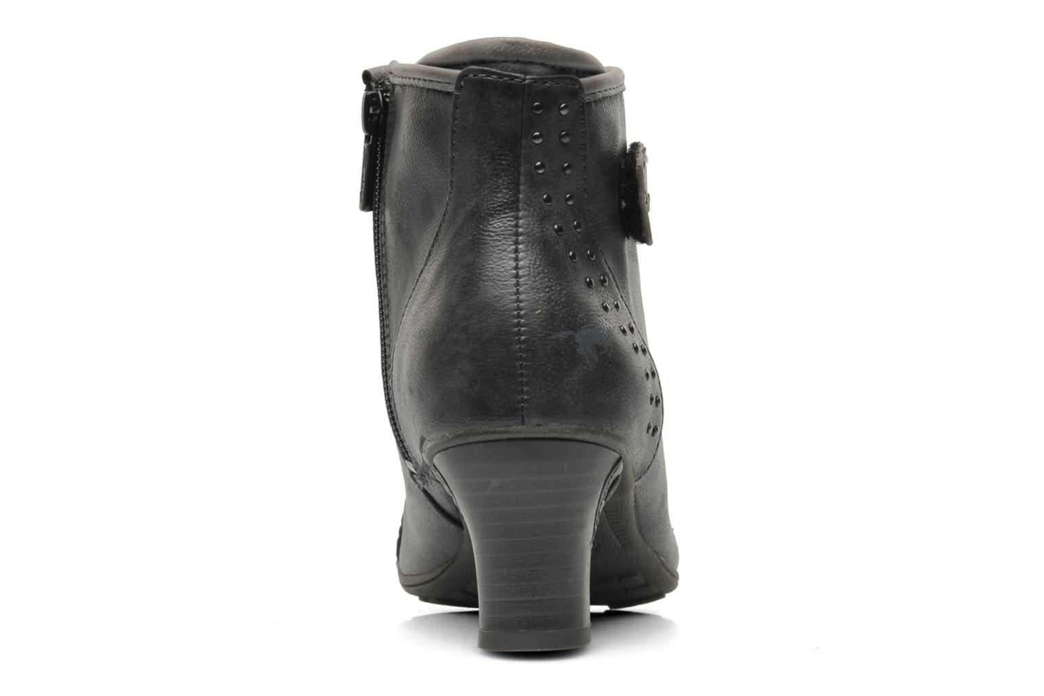 Ankle boots Mustang shoes Ibline Grey view from the right
