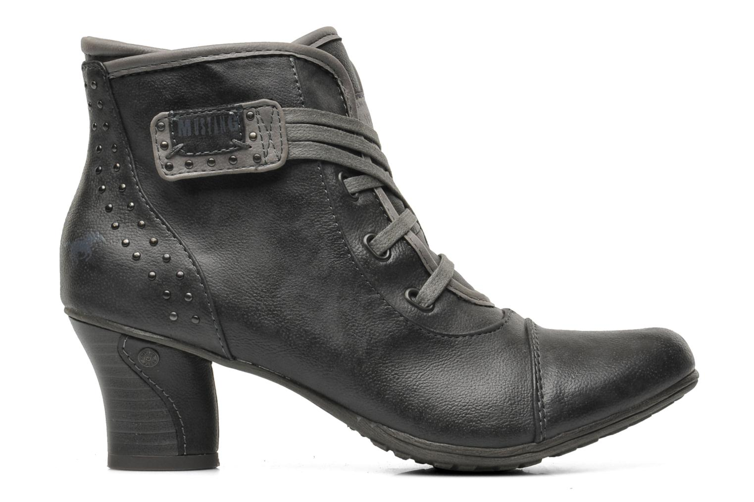 Ankle boots Mustang shoes Ibline Grey back view