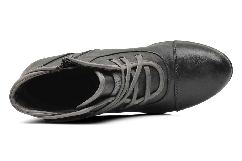 Boots en enkellaarsjes Mustang shoes Ibline Grijs links