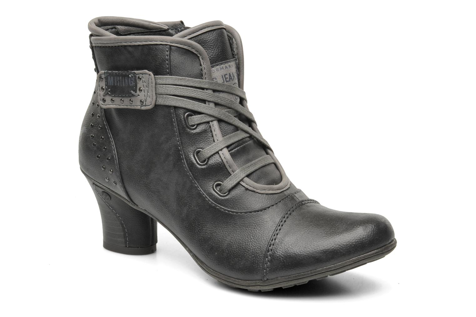 Ankle boots Mustang shoes Ibline Grey detailed view/ Pair view