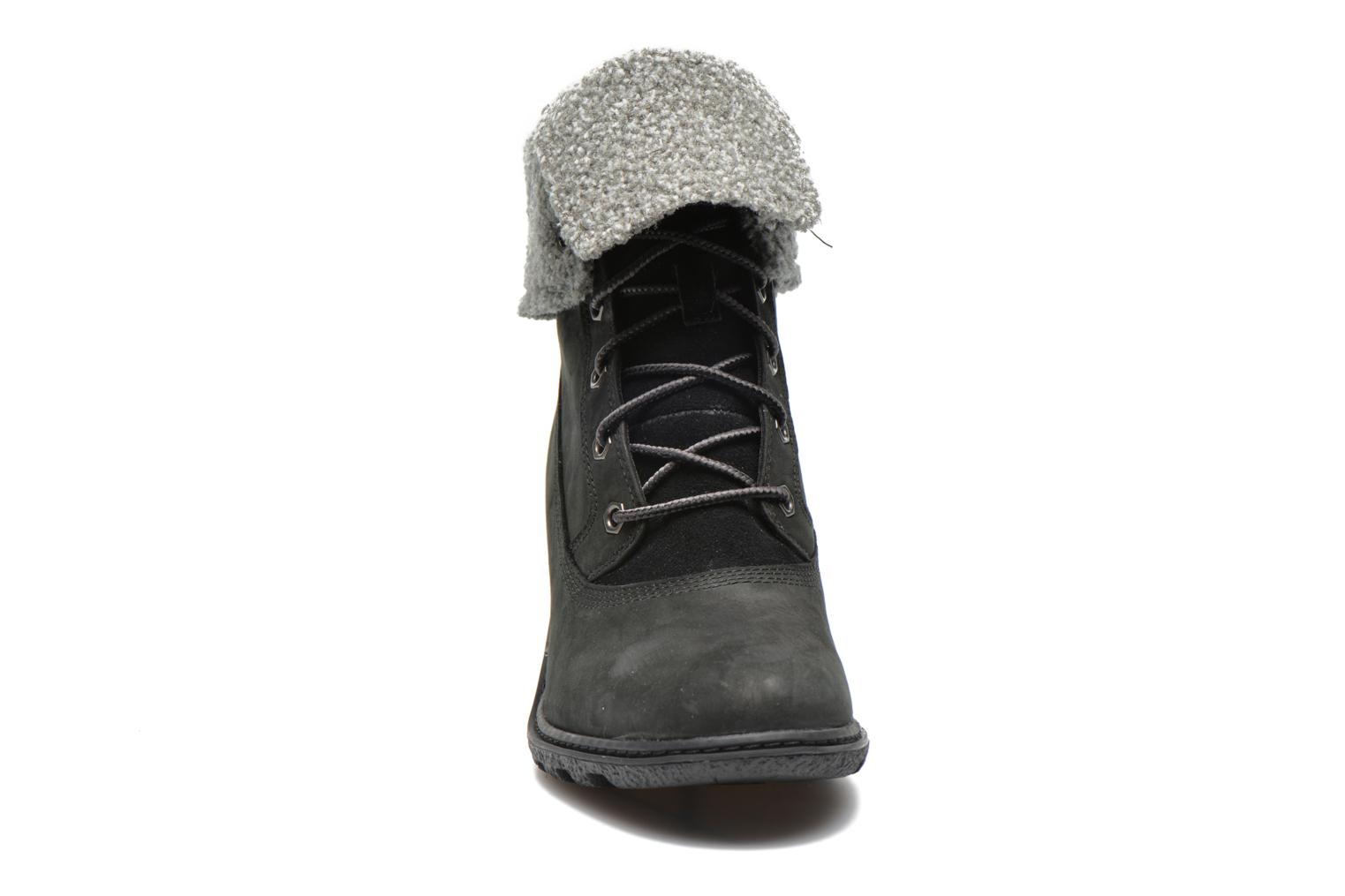 Bottines et boots Timberland Earthkeepers Amston Roll-Top Noir vue portées chaussures