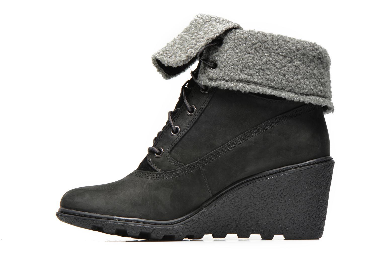 Stiefeletten & Boots Timberland Earthkeepers Amston Roll-Top schwarz ansicht von vorne