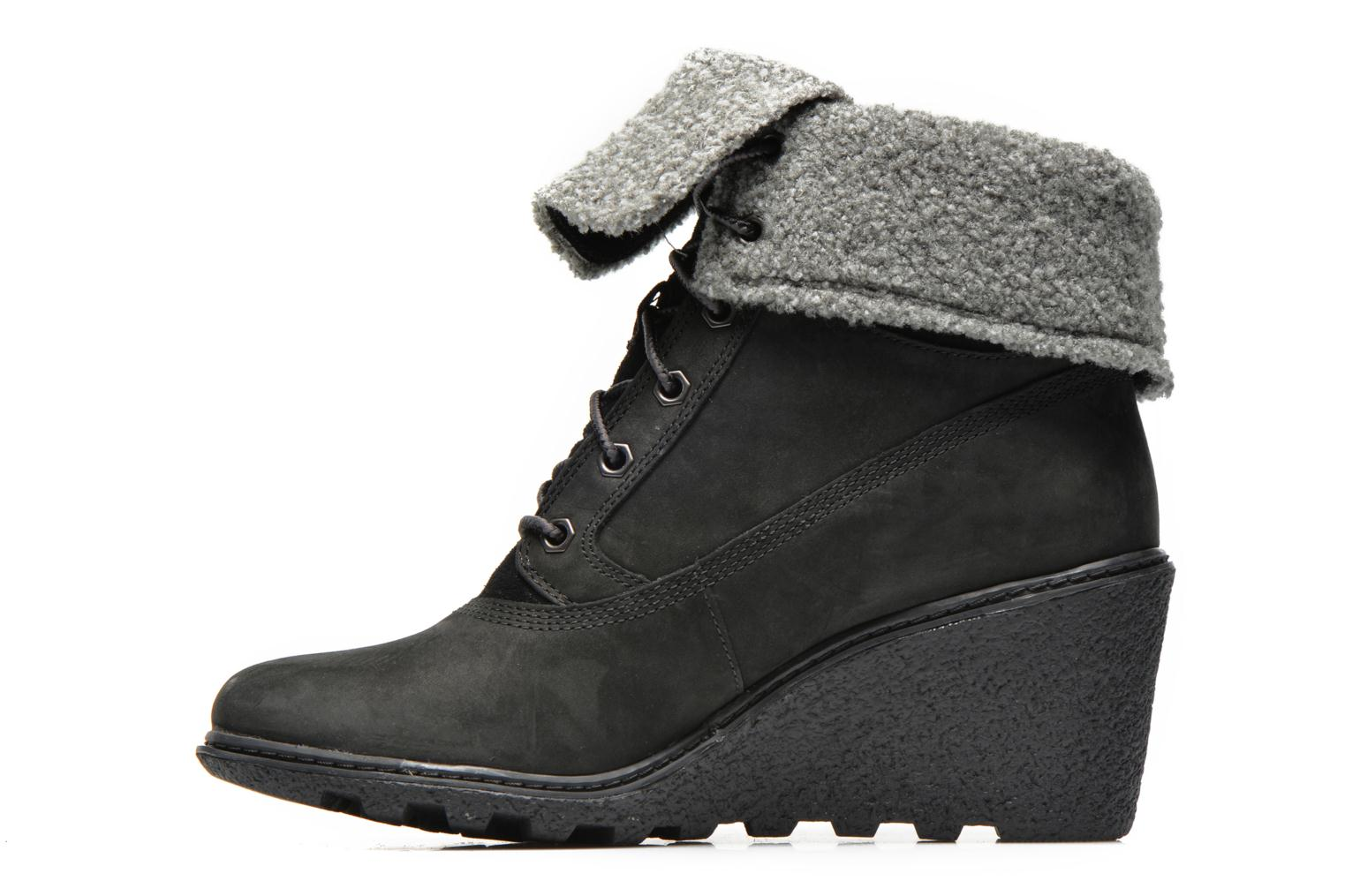 Bottines et boots Timberland Earthkeepers Amston Roll-Top Noir vue face