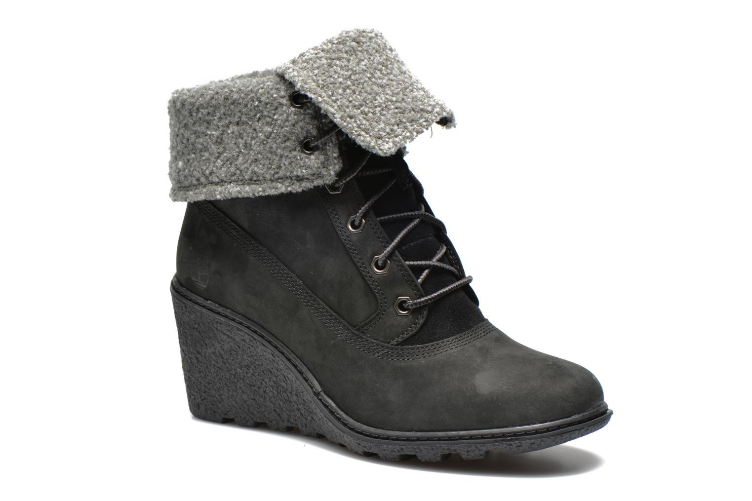 Bottines et boots Timberland Earthkeepers Amston Roll-Top Noir vue détail/paire