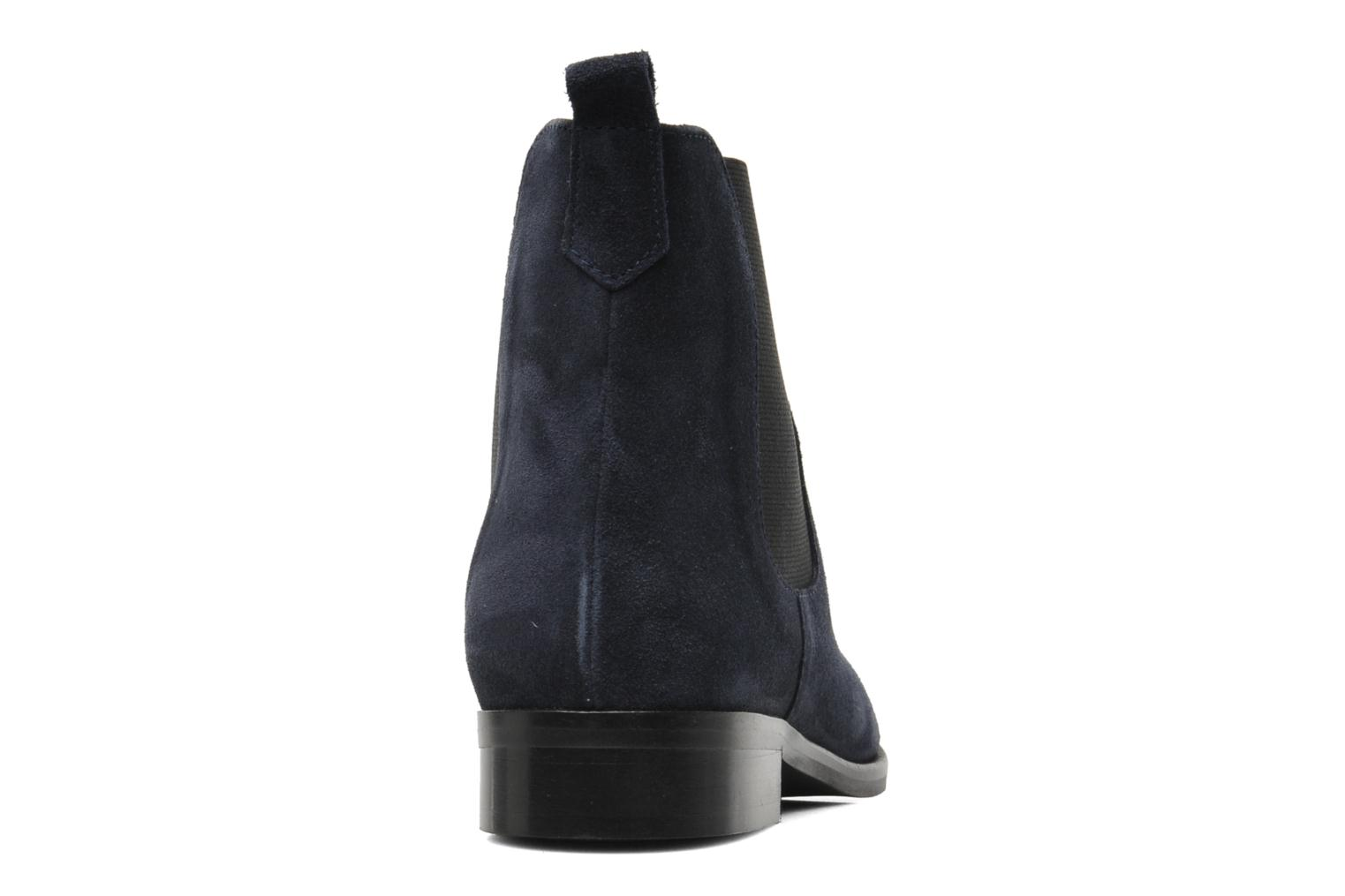 Ankle boots PintoDiBlu Broche Blue view from the right