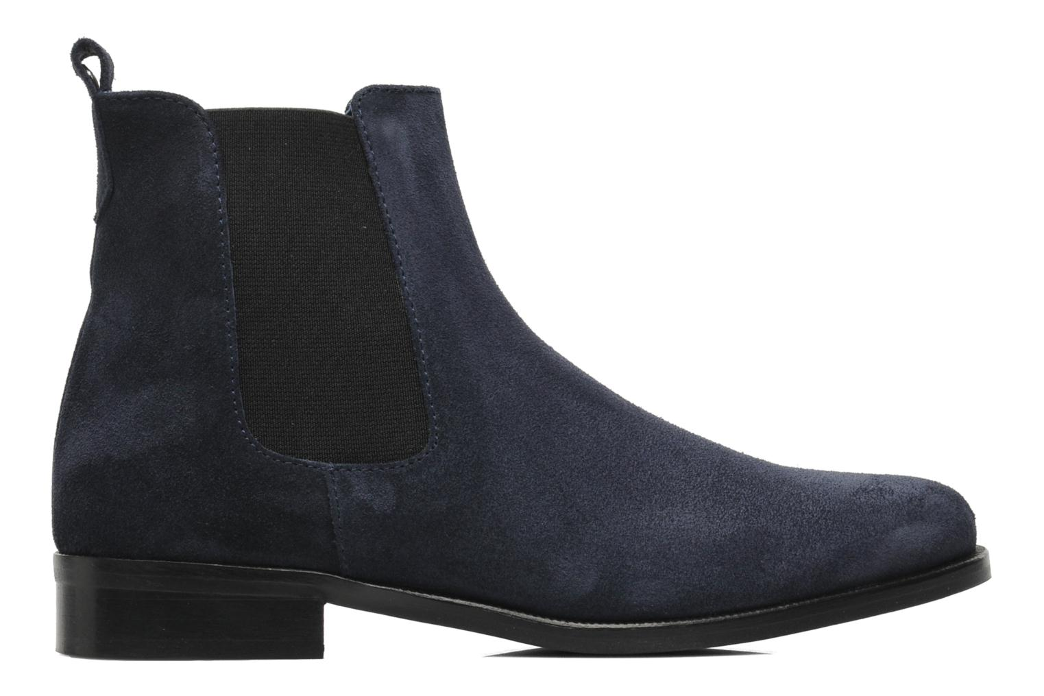 Ankle boots PintoDiBlu Broche Blue back view