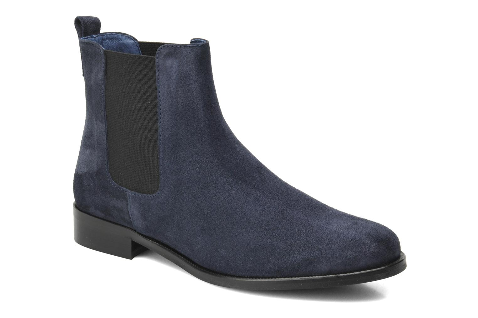 Ankle boots PintoDiBlu Broche Blue detailed view/ Pair view