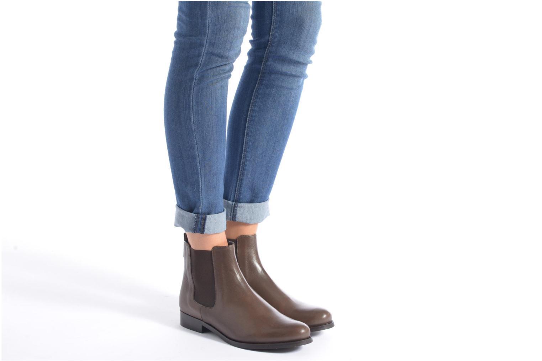 Bottines et boots PintoDiBlu Broche Bleu vue bas / vue portée sac