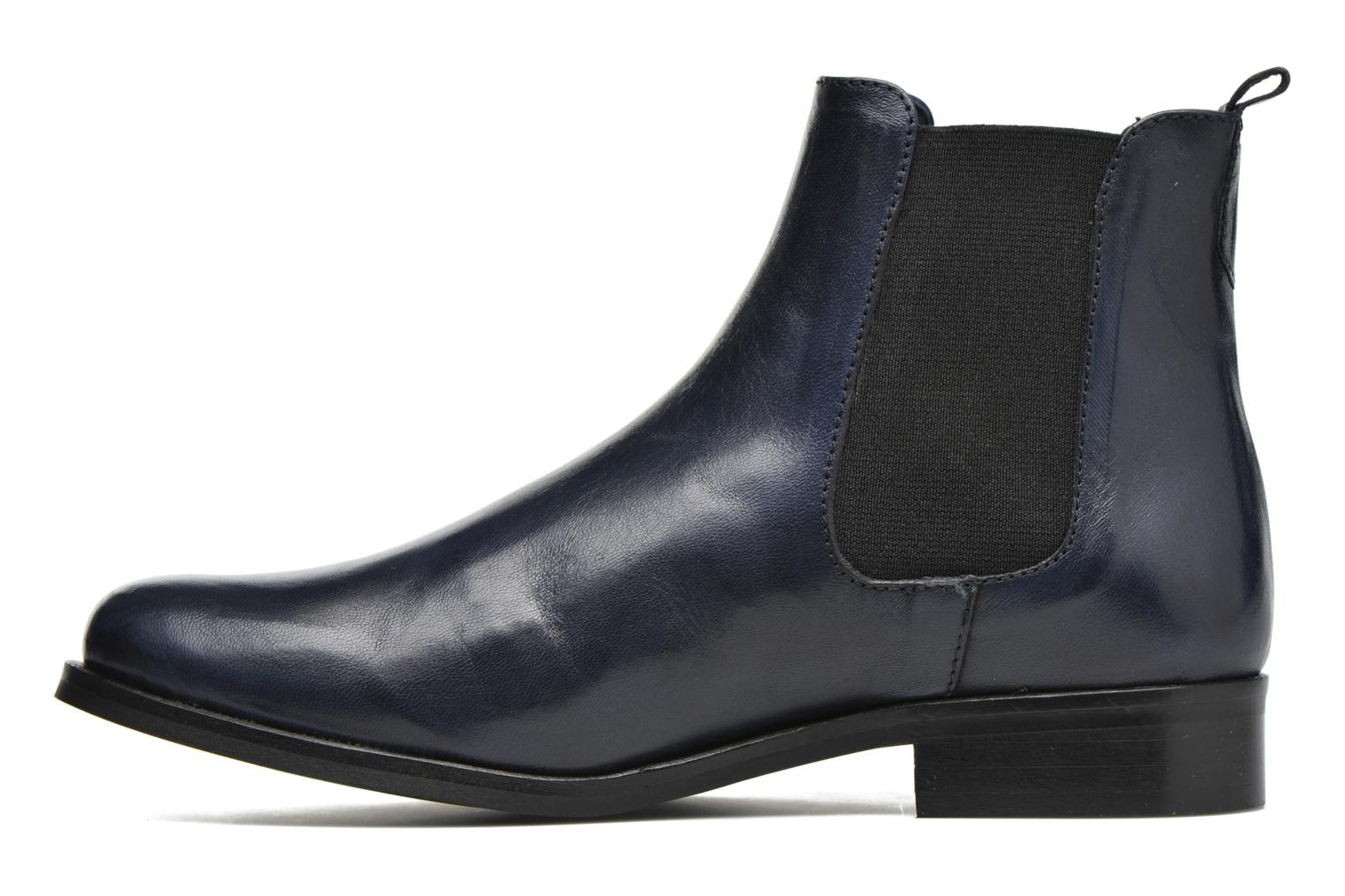 Ankle boots PintoDiBlu Broche Blue front view