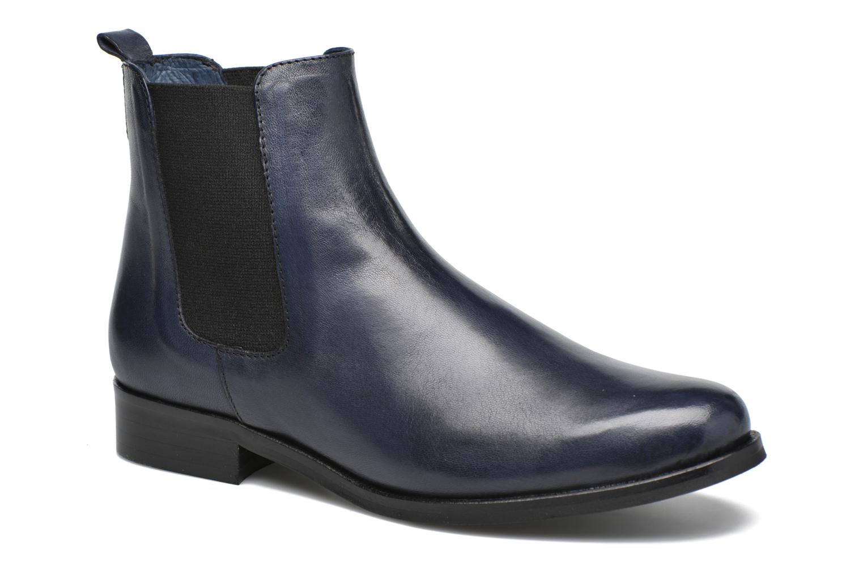 Bottines et boots PintoDiBlu Broche Bleu vue détail/paire