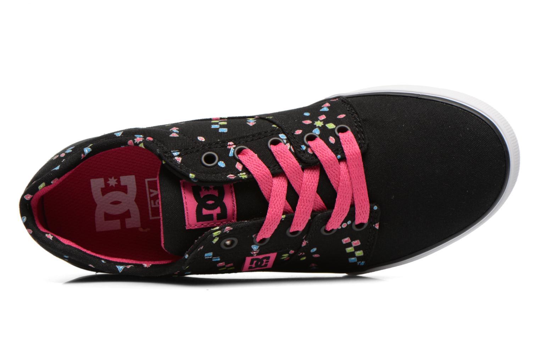 Baskets DC Shoes TONIK TX SE Noir vue gauche
