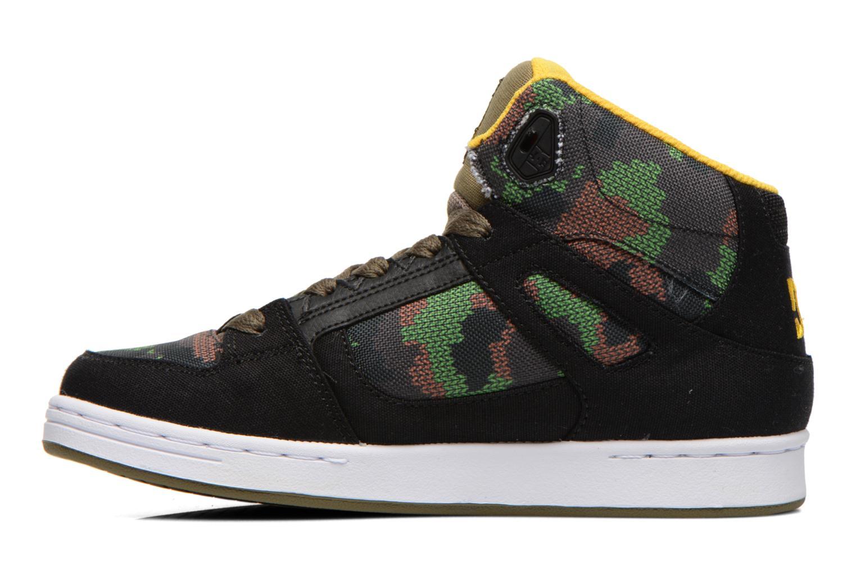 Sneakers DC Shoes REBOUND TX SE Zwart voorkant