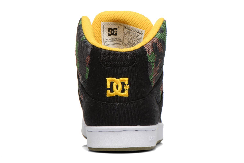Sneakers DC Shoes REBOUND TX SE Zwart rechts