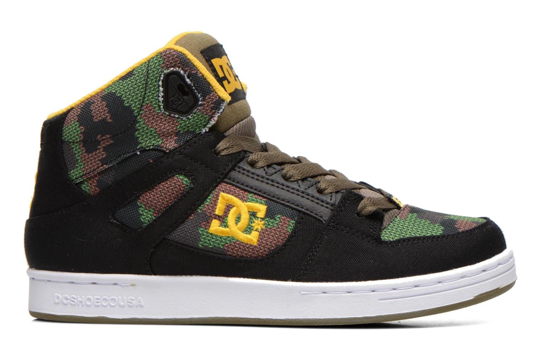Sneakers DC Shoes REBOUND TX SE Zwart achterkant