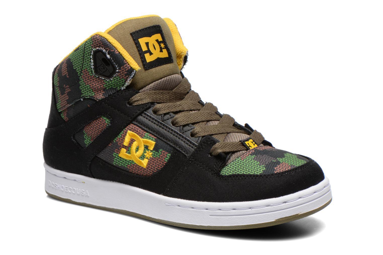 Sneakers DC Shoes REBOUND TX SE Zwart detail