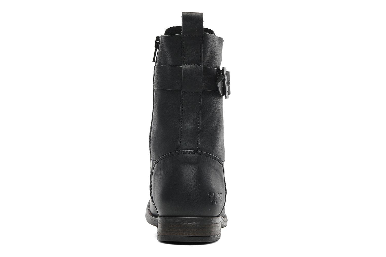 Bottines et boots P-L-D-M By Palladium Udita Noir vue droite