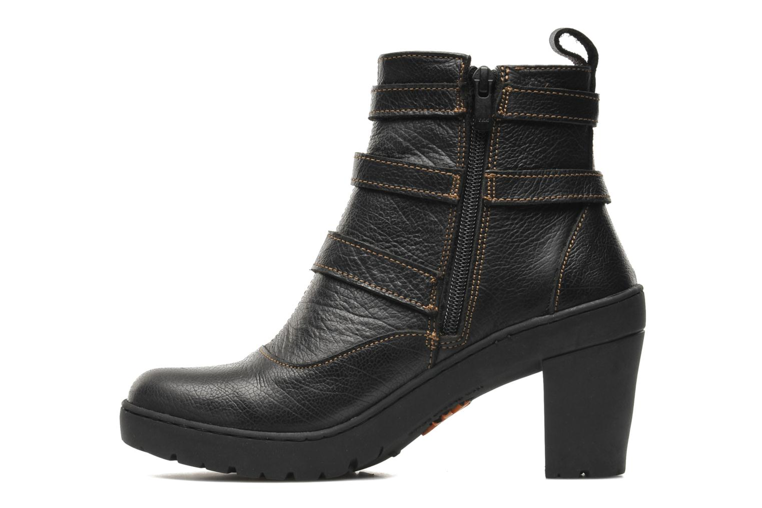 Bottines et boots Art Travel 390 Noir vue face