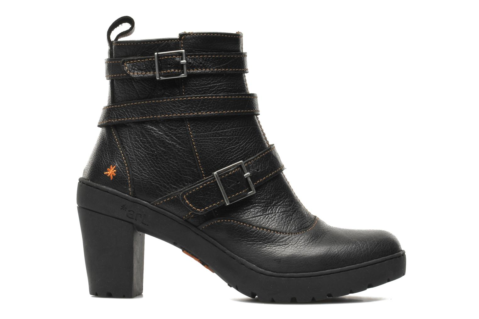 Ankle boots Art Travel 390 Black back view