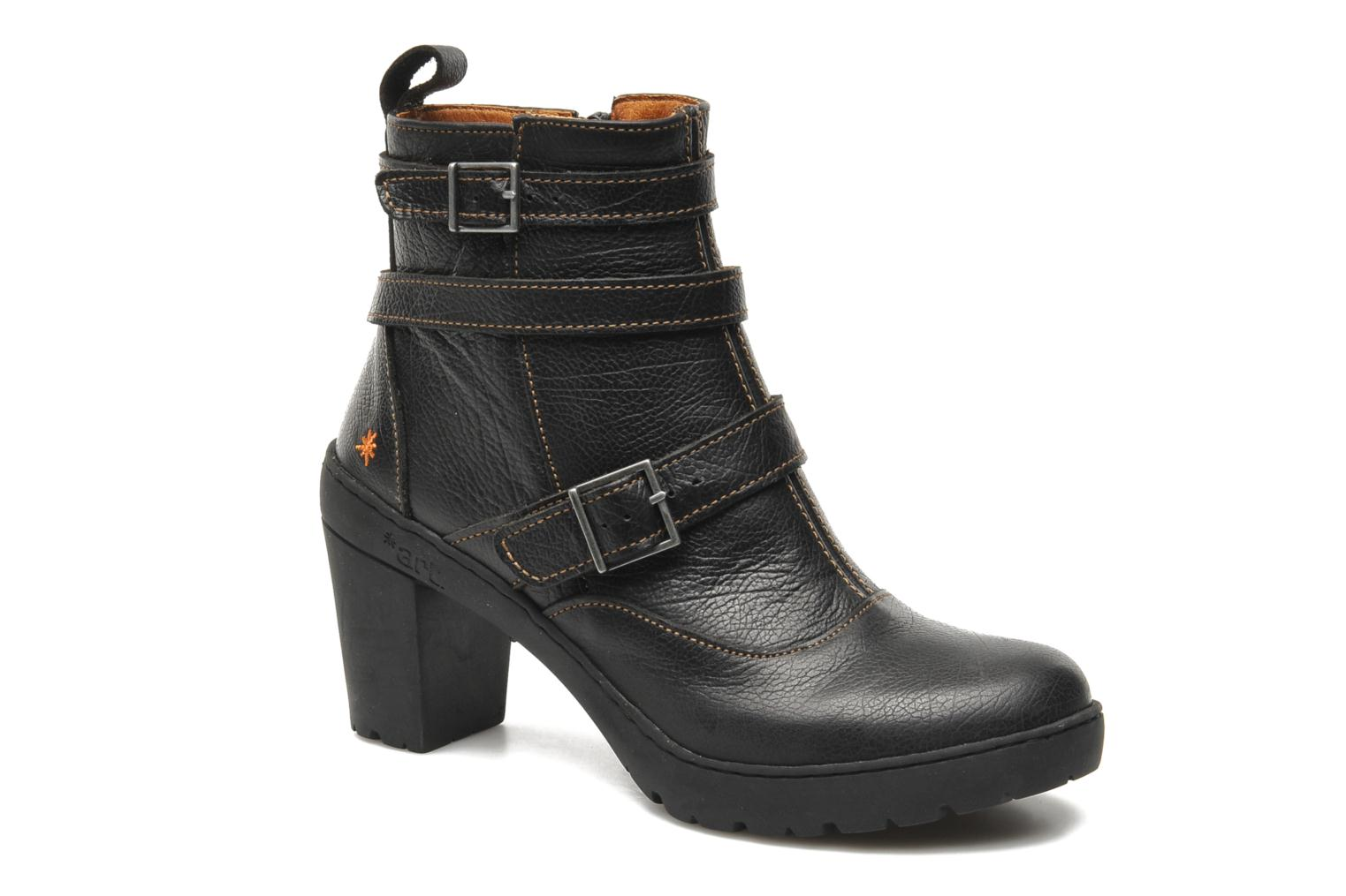 Ankle boots Art Travel 390 Black detailed view/ Pair view
