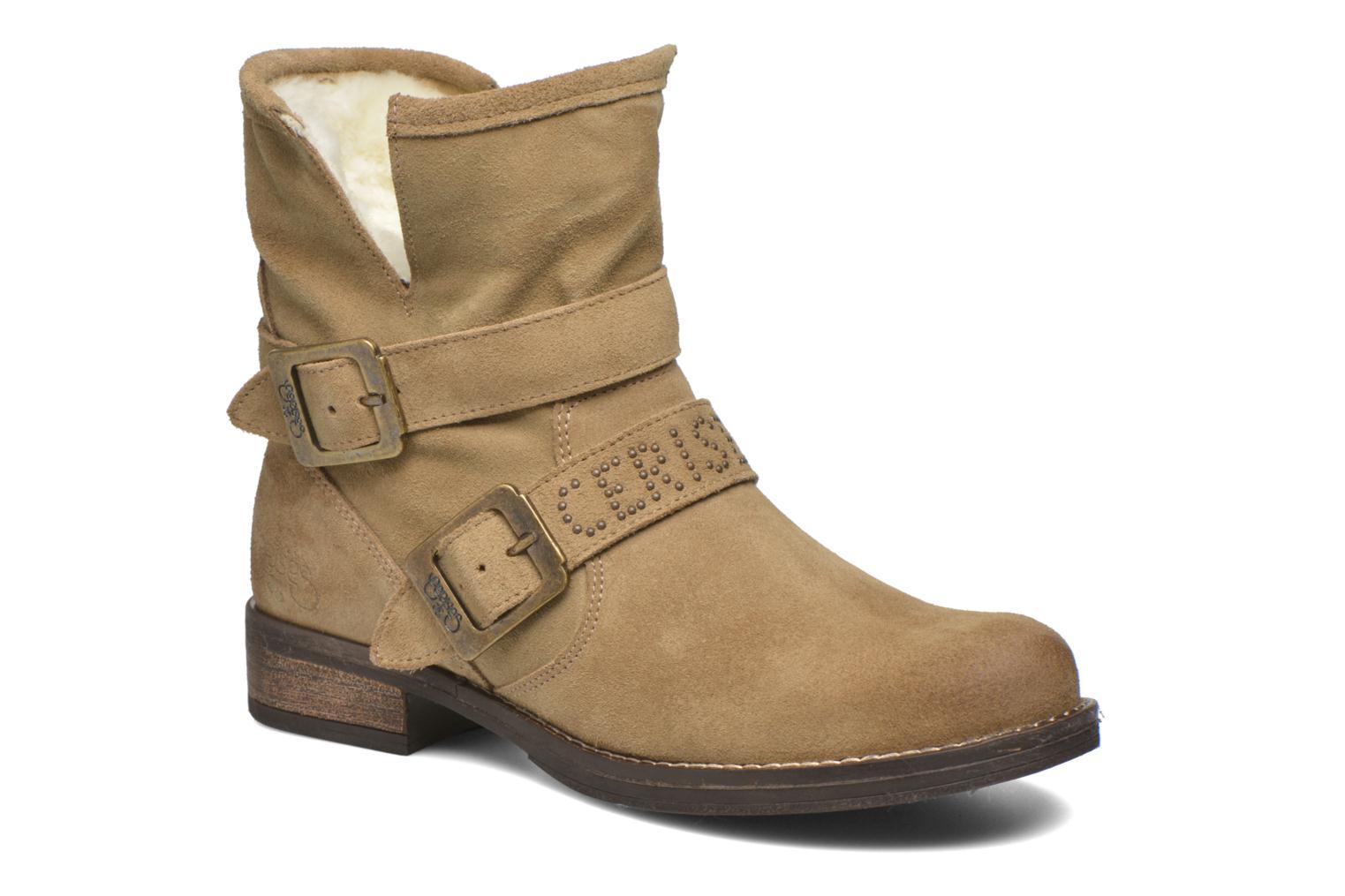 Boots en enkellaarsjes Le temps des cerises Janis Beige 3/4'