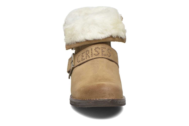 Boots en enkellaarsjes Le temps des cerises Janis Beige model