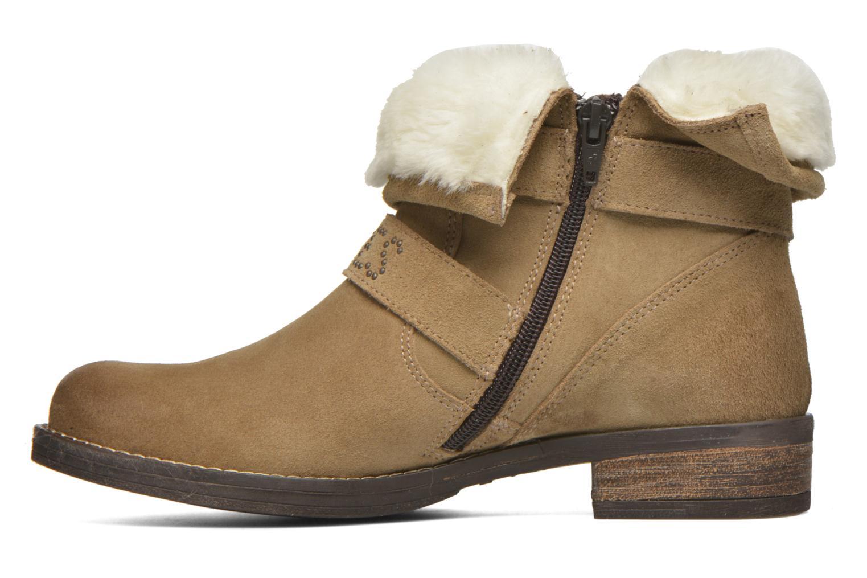 Boots en enkellaarsjes Le temps des cerises Janis Beige voorkant