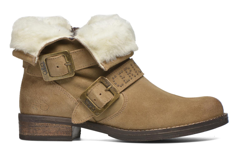 Boots en enkellaarsjes Le temps des cerises Janis Beige achterkant