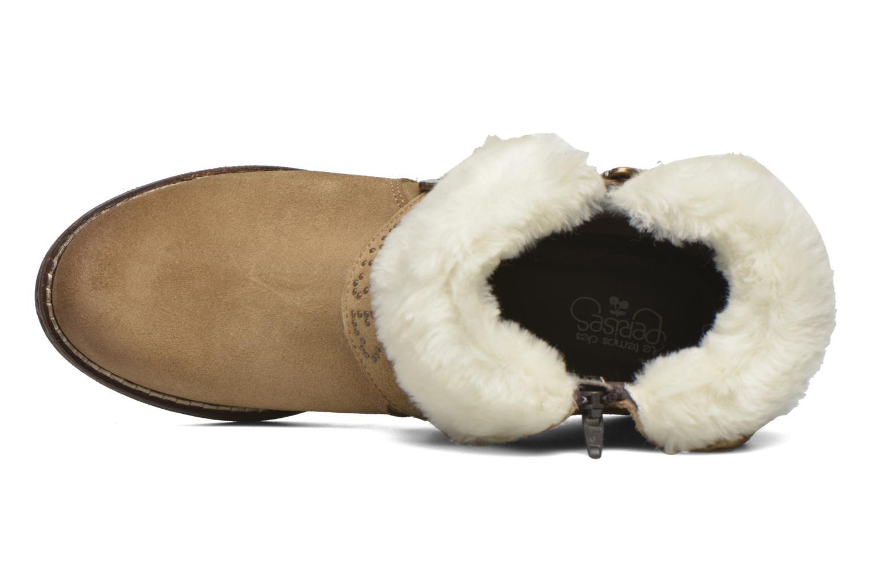 Boots en enkellaarsjes Le temps des cerises Janis Beige links