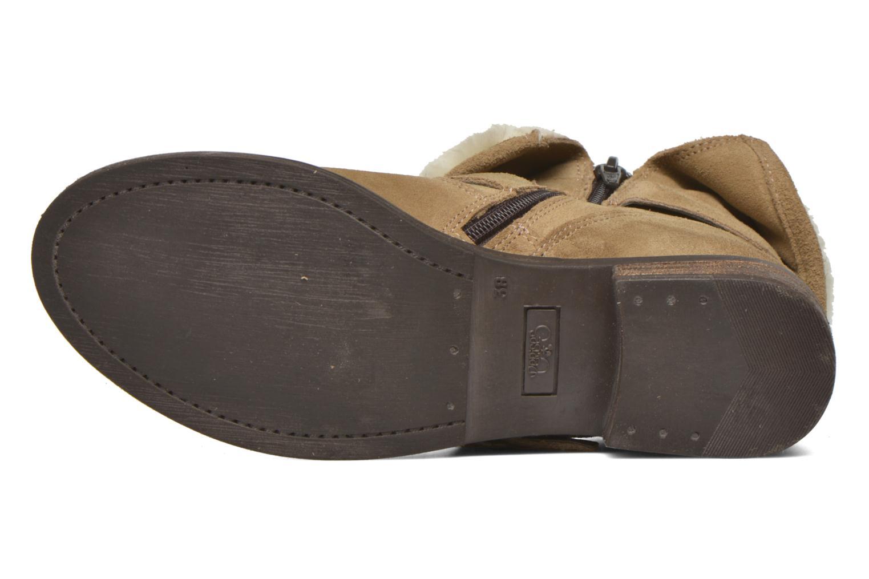 Boots en enkellaarsjes Le temps des cerises Janis Beige boven