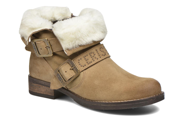 Boots en enkellaarsjes Le temps des cerises Janis Beige detail