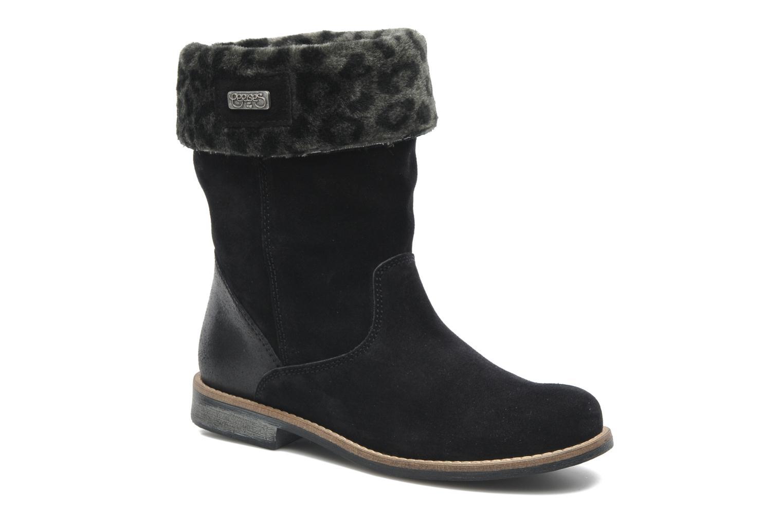 Bottines et boots Le temps des cerises Eva Fur Noir vue détail/paire