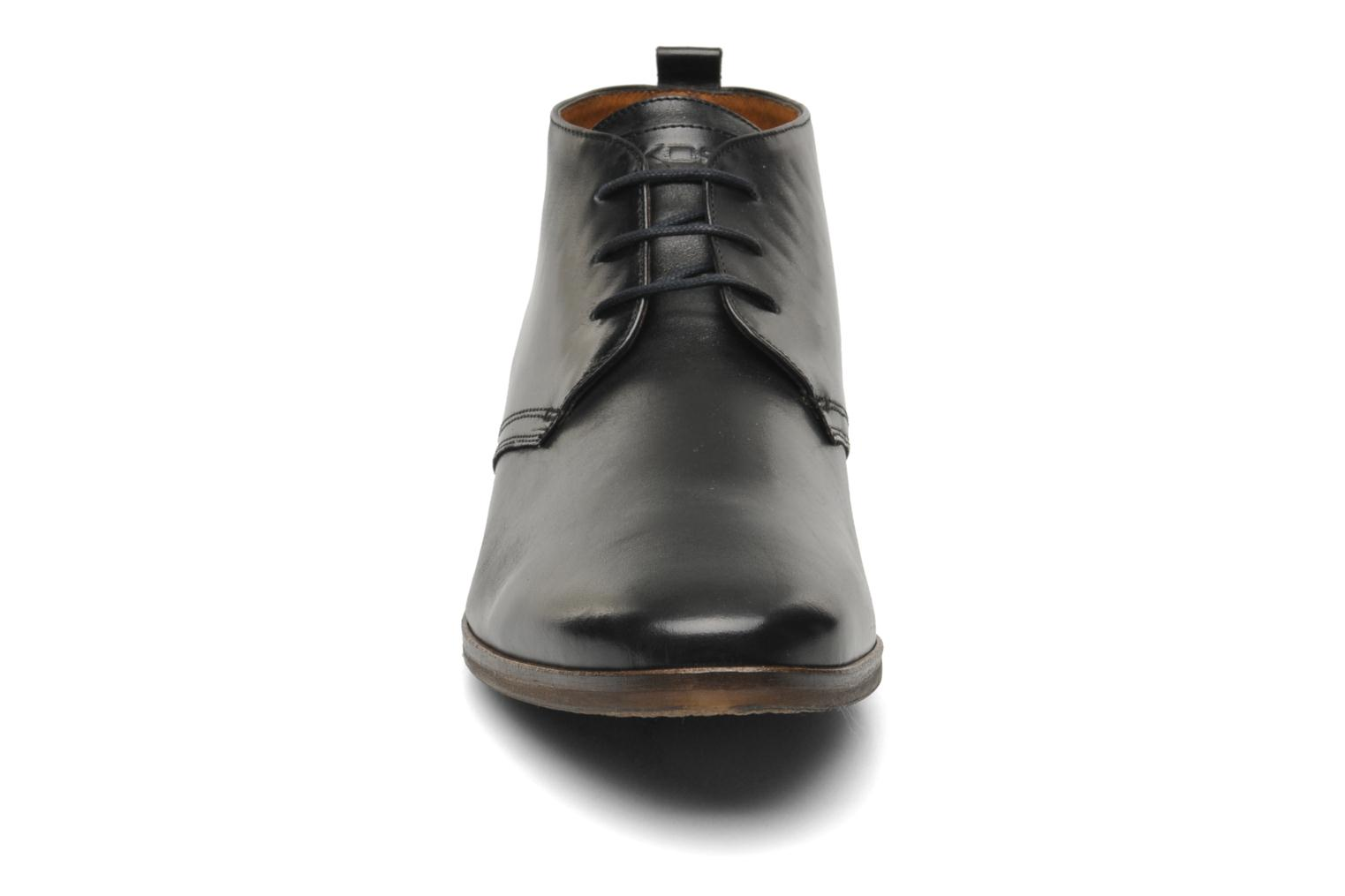 Lace-up shoes Kost Merle 67 Black model view