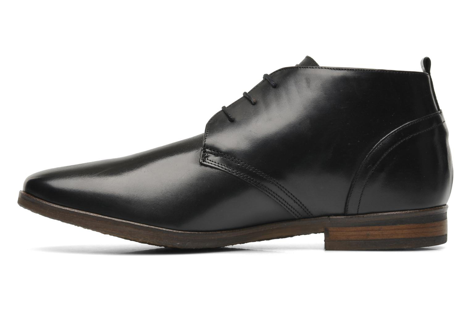 Lace-up shoes Kost Merle 67 Black front view