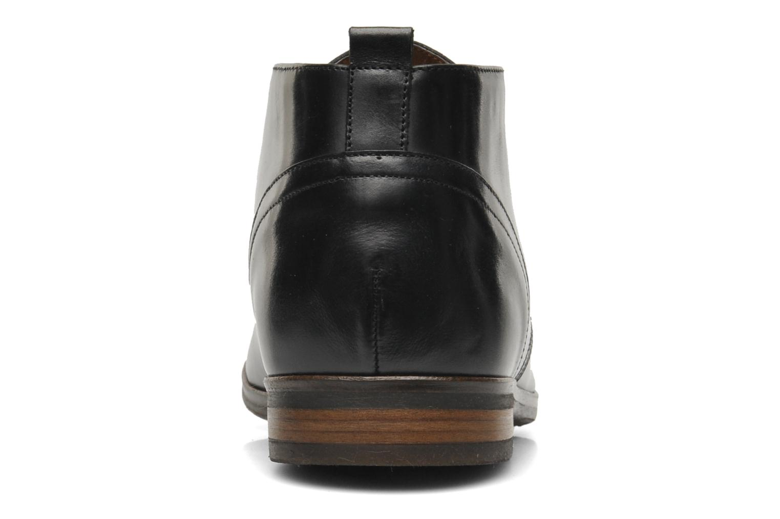 Lace-up shoes Kost Merle 67 Black view from the right