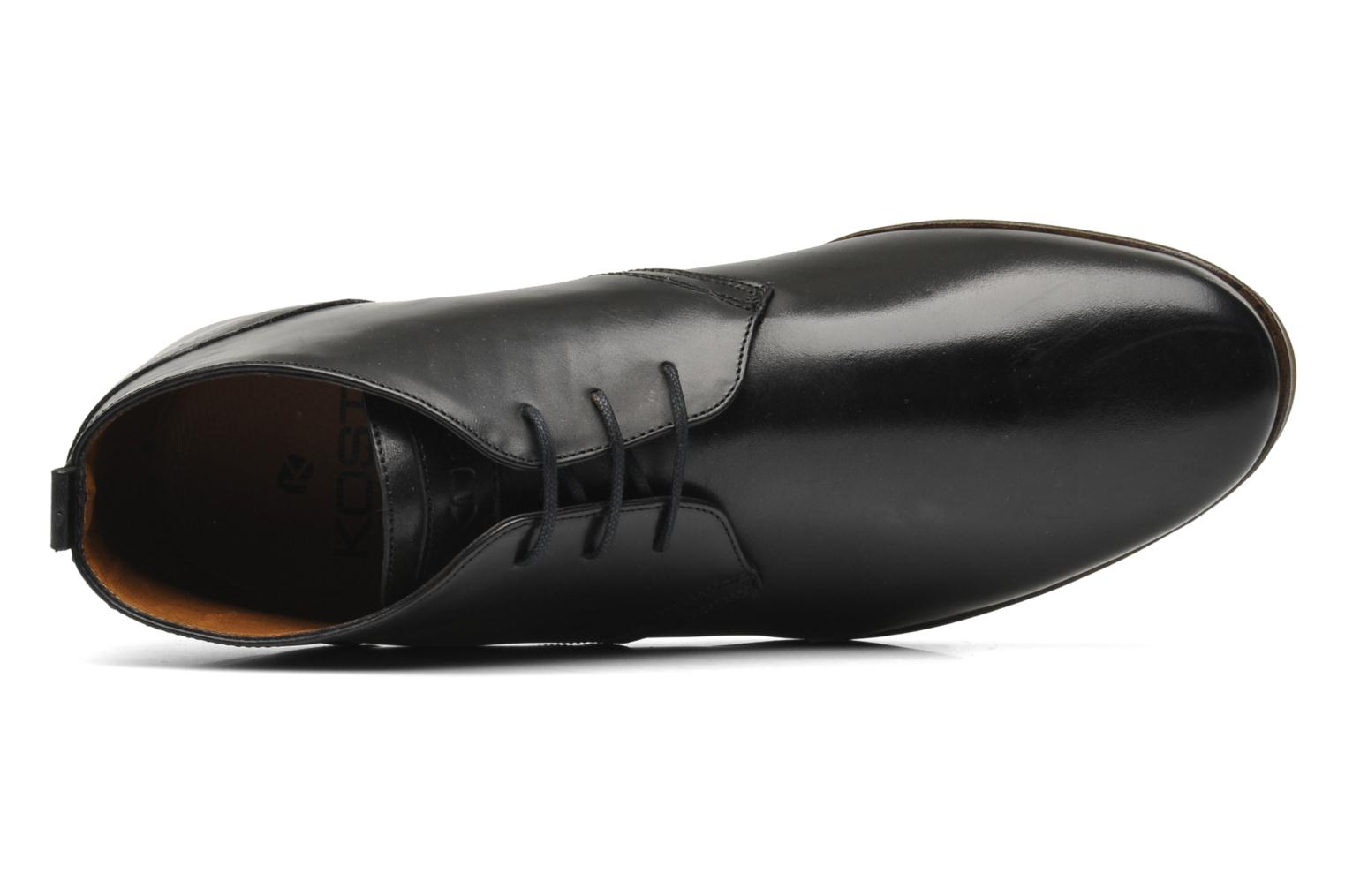 Lace-up shoes Kost Merle 67 Black view from the left