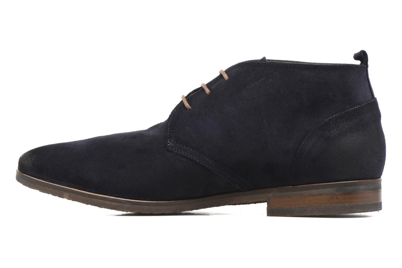 Bottines et boots Kost Merle 67 Bleu vue face