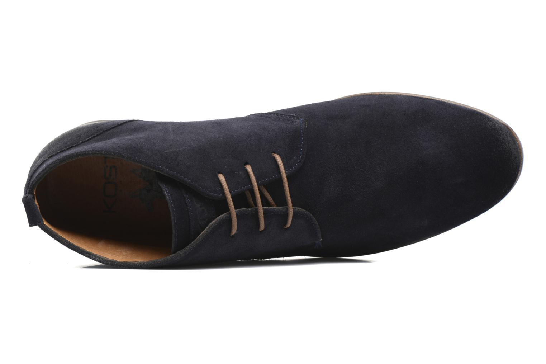 Bottines et boots Kost Merle 67 Bleu vue gauche
