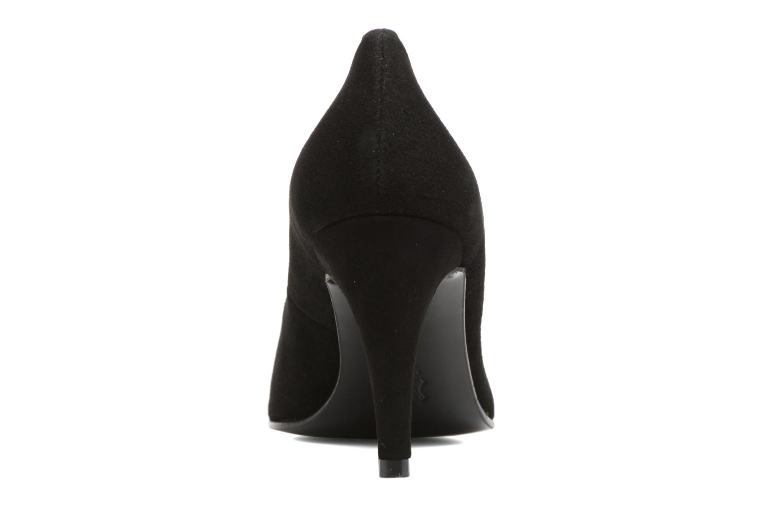 High heels Anna Volodia Ameriane Black view from the right