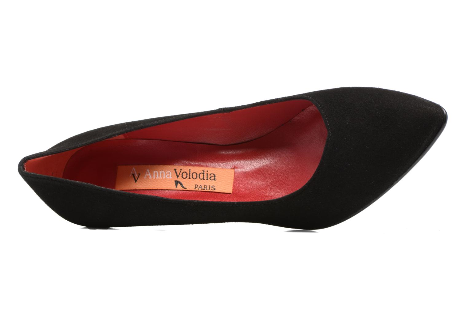 High heels Anna Volodia Ameriane Black view from the left