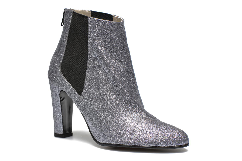 Zapatos promocionales Anna Volodia Aquarel (Gris) - Botines    Descuento de la marca