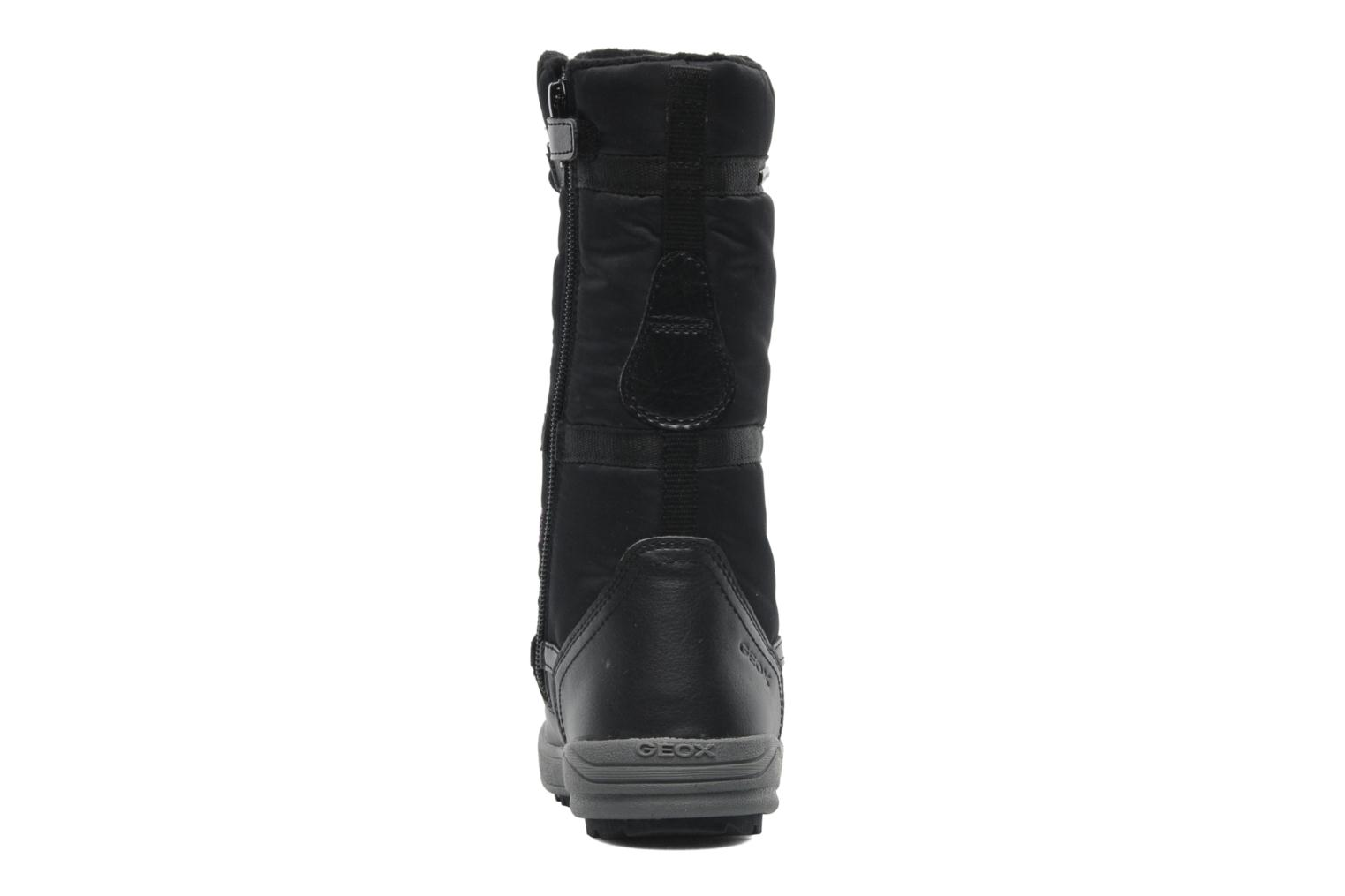 Boots & wellies Geox J JOING B GIRL ABX D Black view from the right