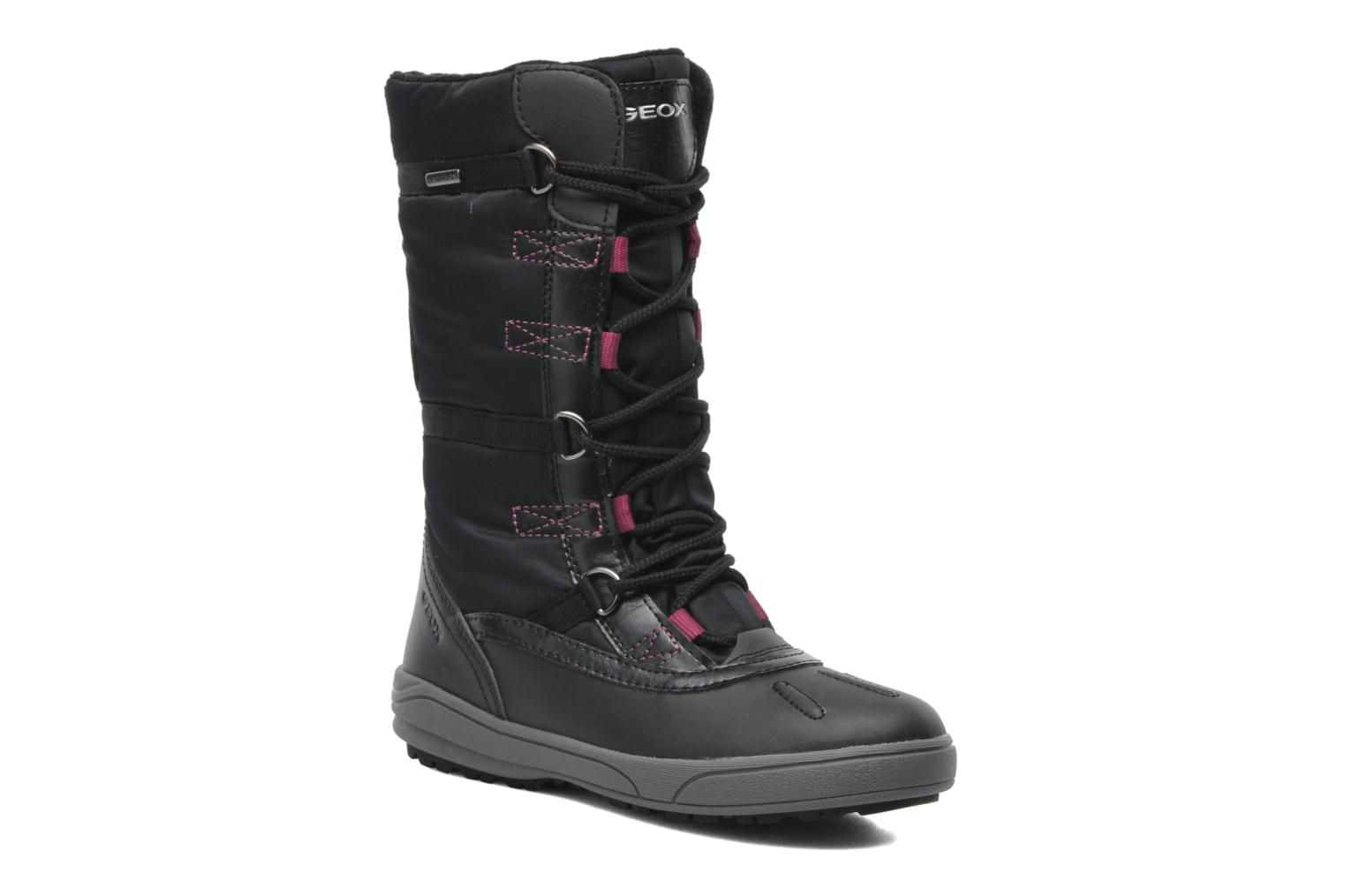 Boots & wellies Geox J JOING B GIRL ABX D Black detailed view/ Pair view