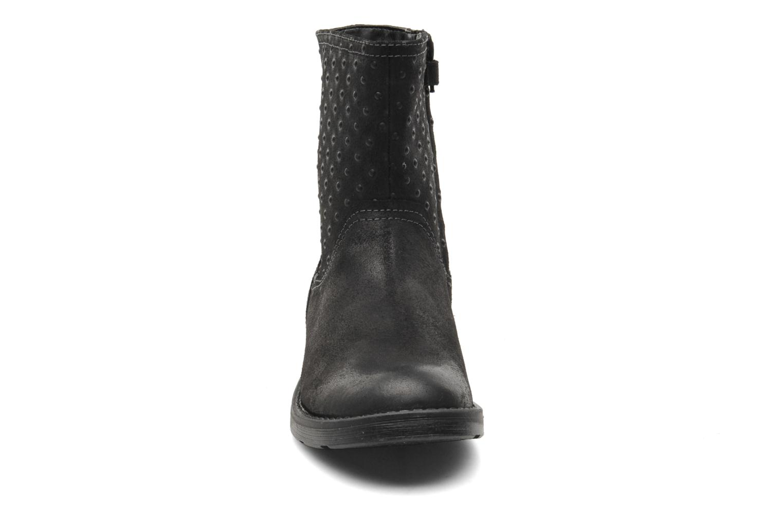 Stiefeletten & Boots Geox JR SOFIA A schwarz schuhe getragen