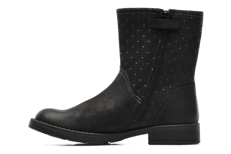 Stiefeletten & Boots Geox JR SOFIA A schwarz ansicht von vorne