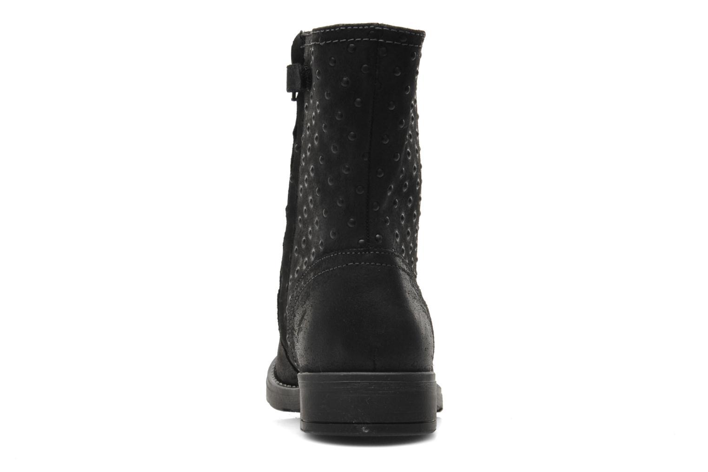 Stiefeletten & Boots Geox JR SOFIA A schwarz ansicht von rechts